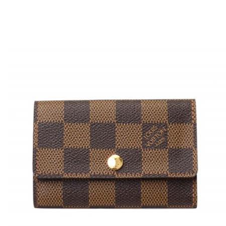 Louis Vuitton LV N62630 Damier 棋盤格紋六孔鑰匙包_預購