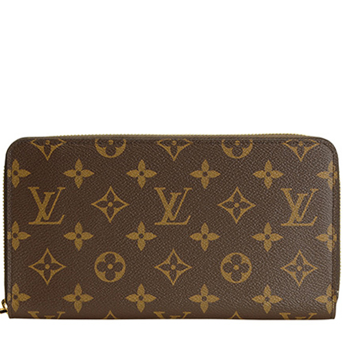 Louis Vuitton M60002 MONOGRAM 多 拉鍊長夾_