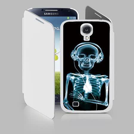 三星S4(700362) 3D手機殼 透視骷顱