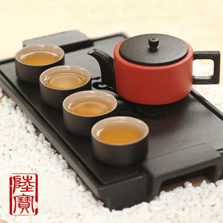 【陸寶】龍啟壺茶盤組(6件式)