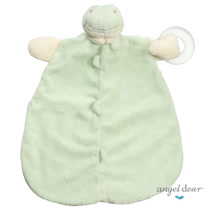 美國 Angel Dear 動物嬰兒固齒安撫巾 (小青蛙)