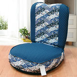 KOTAS 妮特日式休閒和室椅-藍