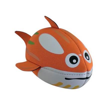 【風車】橘色鯨魚‧歡樂抱抱球-幼兒運動遊戲系列(購物車)