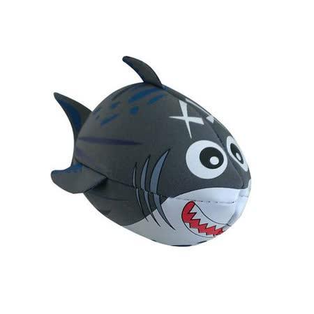 【風車】灰色鯊魚‧歡樂抱抱球-幼兒運動遊戲系列(購物車)