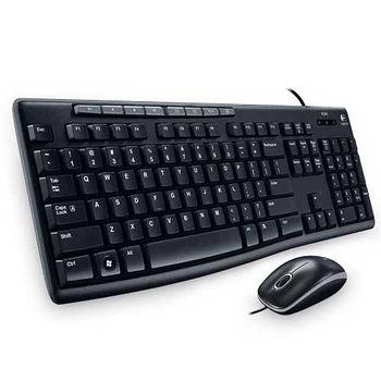 羅技USB有線鍵鼠MK200