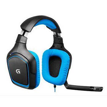 羅技G430環繞音效遊戲耳機麥克風