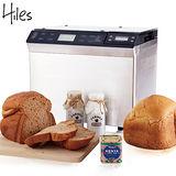 Hiles旗艦級微電腦全自動製麵包機(HE-1368)【福利品】加贈內崁式可拆式電子秤