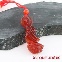 石頭記 護身佛系列-如意觀音 紅玉髓