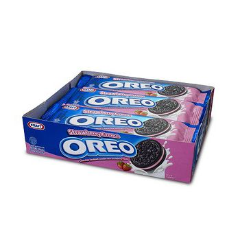 奧利奧OREO草莓巧克力餅乾隨手包264.6G