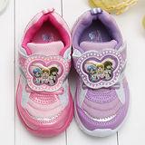 【童鞋城堡】真珠美人魚透氣電燈運動鞋{台灣製造}PI5881