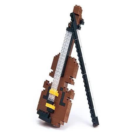 (購物車)《Nano Block迷你積木》【迷你生活系列】NBC-018小提琴