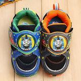 【童鞋城堡】湯瑪士典藏限量版圓形盾牌電燈運動鞋{專櫃鞋款}TH50084
