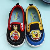 【童鞋城堡】海綿寶寶和蟹老闆幼稚園室內休閒鞋{台灣製造}SG8021
