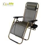 【Conalife】頭等艙級160度舒適無段式涼爽躺椅