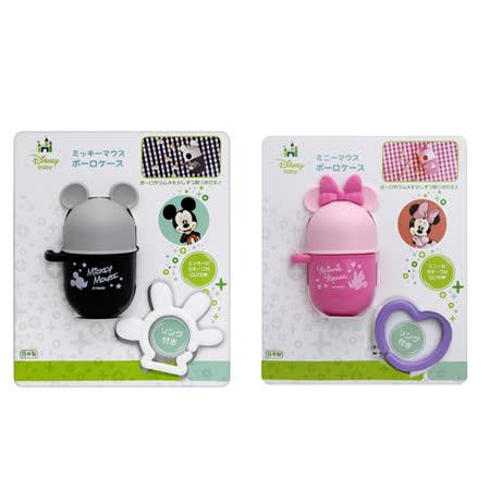 AKACHAN阿卡將 迪士尼 Disney 攜帶式雞蛋球造型罐(米奇 美妮)