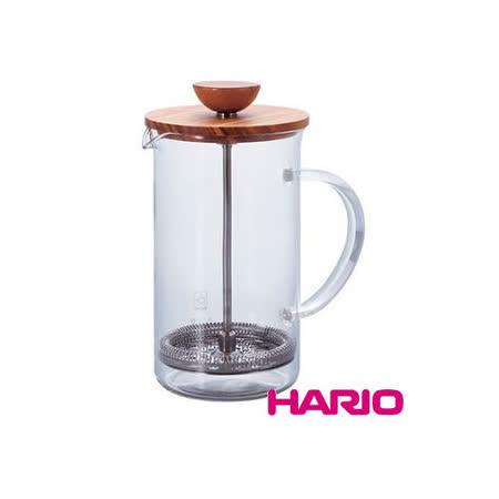 【HARIO】自然風濾壓茶壺600ml / THW-4-OV