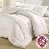 【羽織美】雙人透氣纖維1被2枕組-白色
