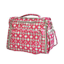 【美國JuJuBe媽媽包】BFF後背/肩背包-Pink Pinwheels-搶手新色好評熱賣