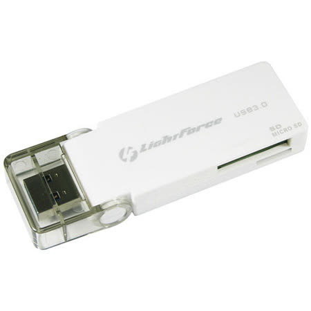 LightForce Force USB 3.0 SD/Micro SD 95MB/s極速讀卡機 - 加送萬用保護貼