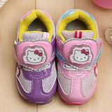 【童鞋城堡】Hello kitty三麗鷗限量立體LED電燈運動鞋{專櫃鞋款}713555