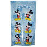 Disney米奇動作圖案長門簾-藍150x85cm(MK851)