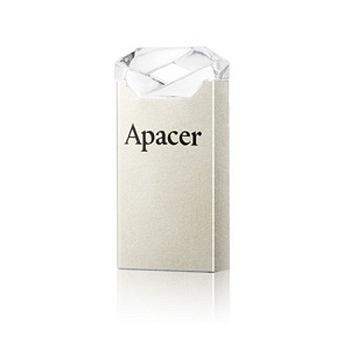 Apacer宇瞻 AH111 16GB 晶透玫瑰 防水隨身碟