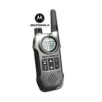 摩托羅拉 免執照 無線電對講機 TLKR T8 銀灰 (贈耳機)