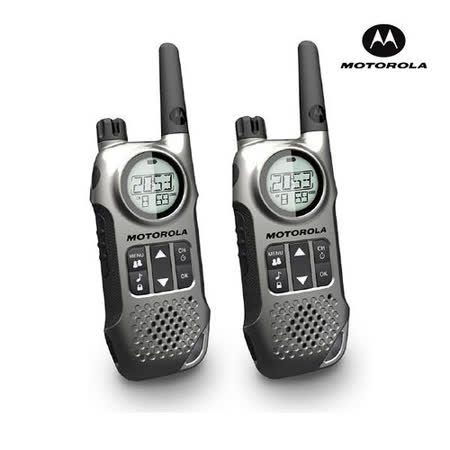 MOTOROLA TLKR T8 無線電對講機[一組2入]銀灰色
