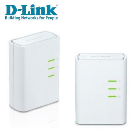 D-LINK DHP-309AV 500Mbps 電源線網路橋接器雙包裝