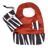 【美國JuJuBe媽咪包】BeNeat 雙面防潑水嬰兒圍兜-Safari Stripes 時尚斑馬紋