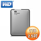 WD My Passport 1TB USB3.0 2.5吋行動硬碟(MAC專用)