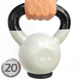 KettleBell包膠20磅壺鈴(橡膠底座)-C113-2020