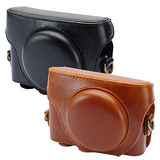 Kamera 兩件式皮質包 for Sony RX100/RX100M2/RX100M3/RX100M4