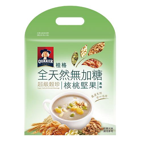 桂格超級無糖穀珍~玄米珍穀28g^~10入袋