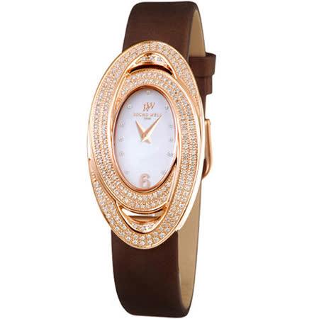 浪威 ROUND WELL 永恆愛戀仕女腕錶 RW3008G