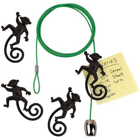 《KIKKERLAND》線型相片架(小猴)