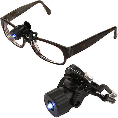 《KIKKERLAND》LED夾式鏡架燈