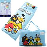 正版授權【憤怒鳥集合-藍】兩用兒童睡袋-台灣製