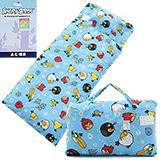 正版憤怒鳥【飛鳥樂繽紛-藍】兩用兒童睡袋-台灣製