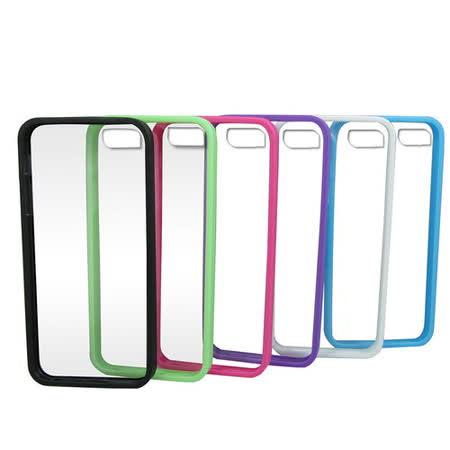 J20透明背板iphone5保護殼