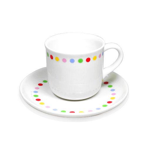 ~iSFun~圓圓霓點~圓盤咖啡杯
