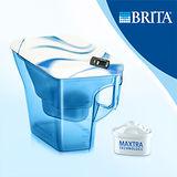 【德國BRITA】 Navelia Cool若薇亞型2.3L濾水壺-巡洋藍(內含1支濾芯)