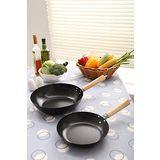 【固鋼】日式高碳鋼雙面陶瓷不沾鍋具組