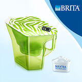 【德國BRITA】 Navelia Cool若薇亞型2.3L濾水壺-探險綠(內含1支濾芯)
