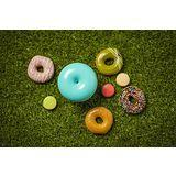 【TickTock】馬卡龍甜甜圈水氧機(藍)+澳洲【Inessence】100%廣藿香精油
