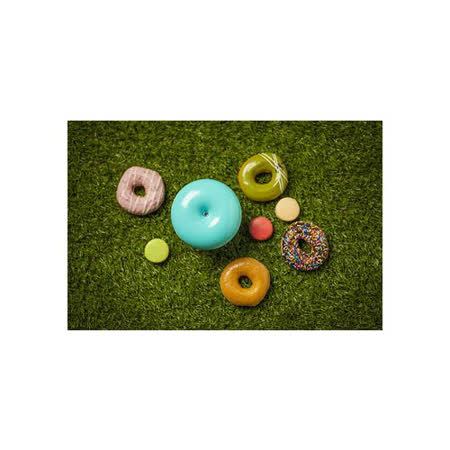 【TickTock】馬卡龍甜甜圈水氧機(藍)+澳洲第一品牌【Inessence】100%純精油