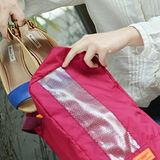 M Square 商務旅行鞋袋M號-紫紅色