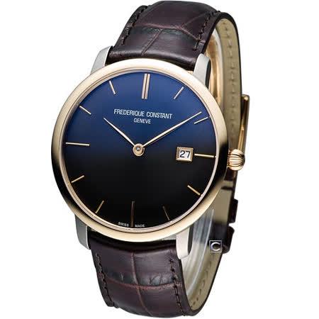 CONSTANT 百年經典超薄鈦機械腕錶  FC-306G4STZ9
