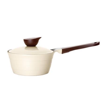 韓國NEOFLAM Eela系列 18cm陶瓷不沾單柄湯鍋+陶瓷塗層鍋蓋(EK-ED-S18)