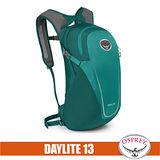 【美國 OSPREY】Daylite 13L 超輕多功能隨身背包/攻頂包.輕便日用隨行包.自行車/單車雙肩包_翡翠綠